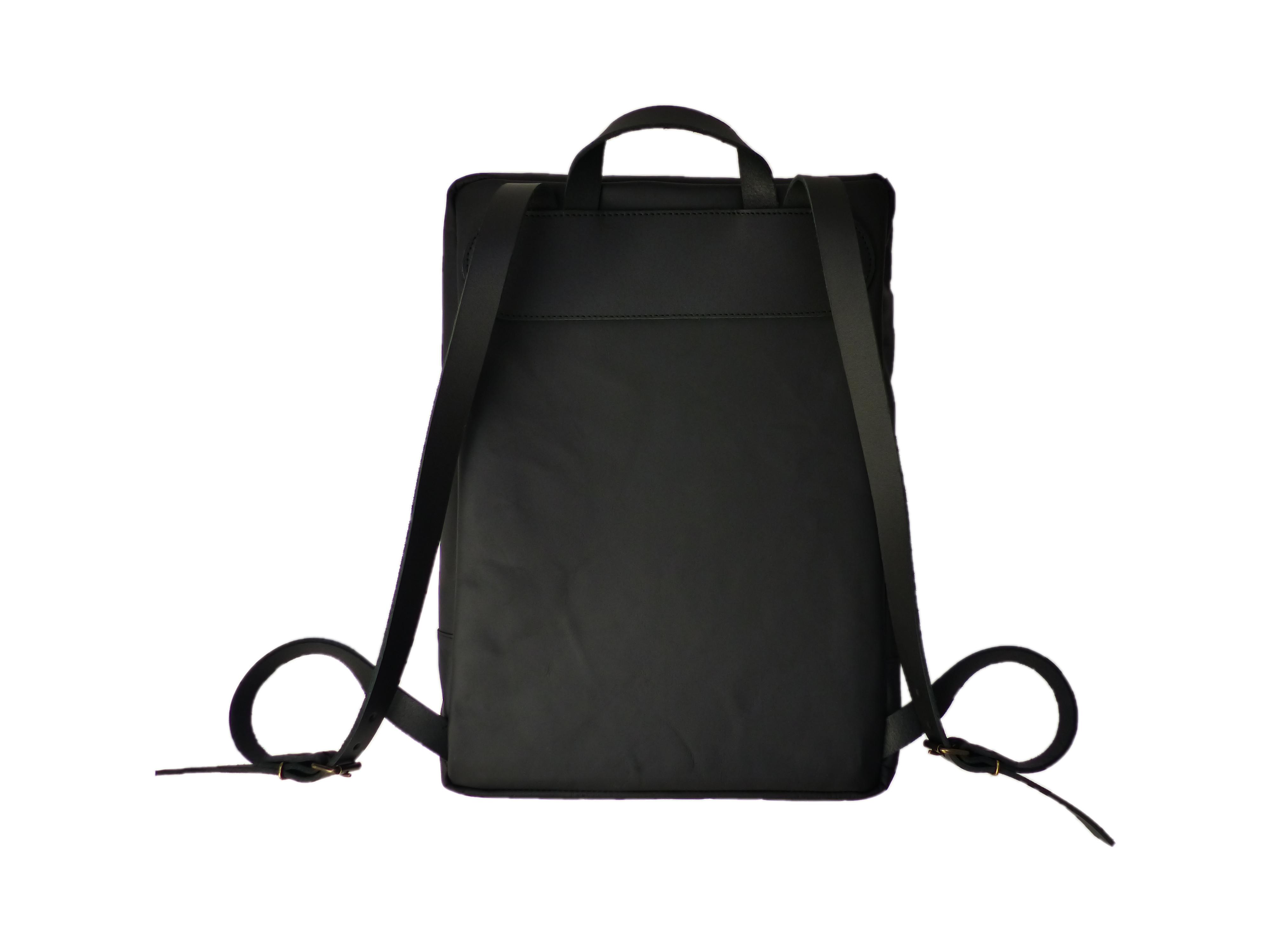 Black bőr hátizsák c27441955b